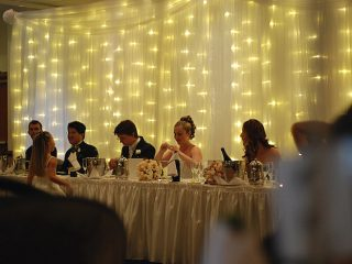 Bridal Table with guests